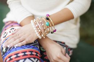 Stacked Jewel Bracelet
