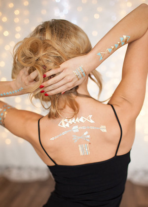 Crossed Arrows Tattoos CLEARANCE