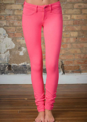 Most Favored Jeggings Pink CLEARANCE