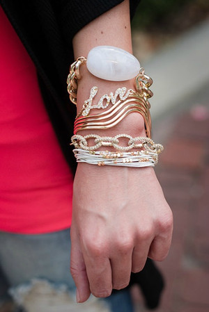 Stacked with Love Bracelets