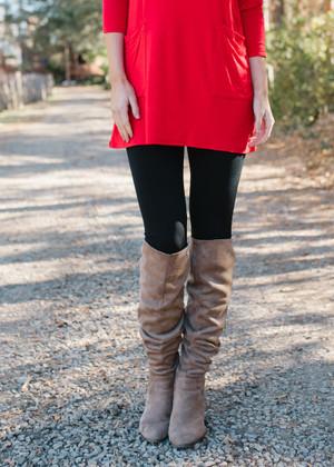 (Cyber Monday) Heavy Weight Fleece Seamless Leggings Black