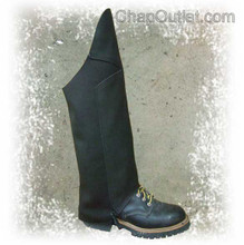 motorcycle half chaps, 1 layer front panel