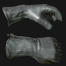 gauntlet cuff deerskin motorcycle gloves