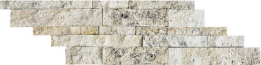 Split Face Cambria Strips Picasso Travertine