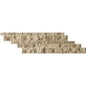 Noce Cambria Strips Split-Face Travertine