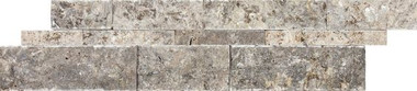 Silver Ash Travertine Split Face Cambria Strips