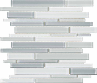 Bliss Element Shades of Grey Mosaics