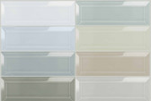 "Bliss Element 3"" x 9"" Beveled Mosaics"