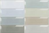 "Bliss Element 3"" x 9"" Beveled Mosaics"