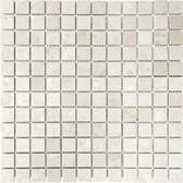 Berkshire Crema Marble Honed | 1X1 Mosaic Tile
