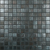 "RUST • Arts Collection by Vidrepur • Recycled 1"" x 1"" Mosaic Glass Tiles"