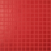 "CANDY APPLE • Essentials Collection by Vidrepur • Recycled 1"" x 1"" Mosaic Glass Tiles"