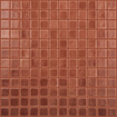 "BROWN • Deco Collection by Vidrepur • Recycled 1"" x 1"" Mosaic Glass Tiles"