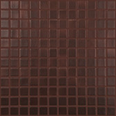"LEATHER • Deco Collection by Vidrepur • Recycled 1"" x 1"" Mosaic Glass Tiles"