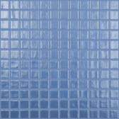 "BLUE SILVER • Deco Collection by Vidrepur • Recycled 1"" x 1"" Mosaic Glass Tiles"