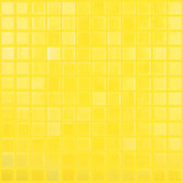 "LEMON YELLOW • Deco Collection by Vidrepur • Recycled 1"" x 1"" Mosaic Glass Tiles"