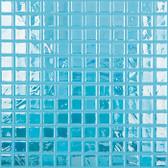 "NIAGARA IRIDESCENT • Titanium Collection by Vidrepur • Recycled Mosaic 1"" x 1"" Glass Tiles"