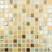 "DESERT MIX • Mixes Collection by Vidrepur • Recycled Mosaic 1"" x 1"" Glass Tiles"