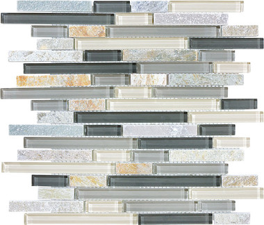 Silver Aspen Bliss By Anatolia Tile Amp Stone Staggered