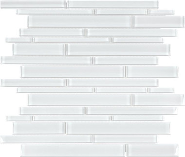 Bliss Elements - Ice - Random Strip Mosaics