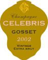 2002 Gosset Champagne Celebris