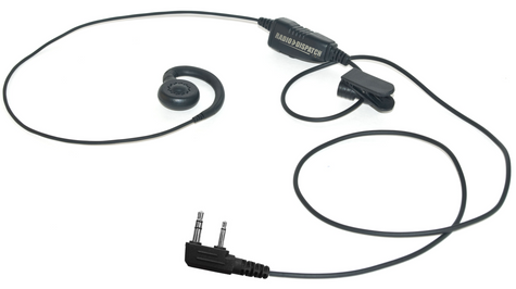 G-Hook Earpiece [ProTalk TK-2100 TK-2200 TK-2300 TK-2400]