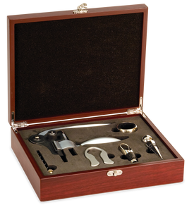 Lancer Rosewood 5 Piece Wine Gift Set (4121-52)