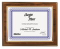 Budget beater cherry certificate plaque 2323-05