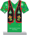 Green Ugly Christmas Sweater Award