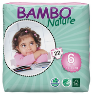 Bambo Nature XL Nappies - size 6