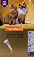 Advocate Cat Large Over 9lbs (4Kg) - 12 Pack