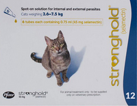 Stronghold Blue Cats 5.1-15lbs (2.6-7.5kg) - 12 Pack