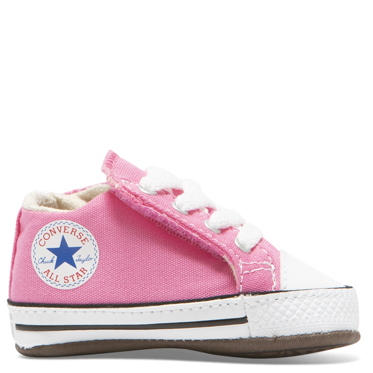 Converse Chuck Taylor All Star Cribster Canvas Colour Mid PinkNatural IvoryWhite