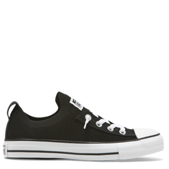 Converse Chuck Taylor All Star Shoreline Knit Slip Low Top - Black/White/Black