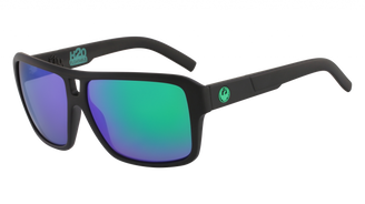 Dragon The Jam - Matte Black H2O w/ LumaLens Green Ion Polar