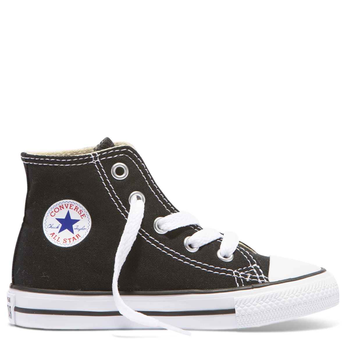 a07a84ae4ce73e Converse Chuck Taylor All Star Toddler High Top - Black. Price   49.99.  Image 1