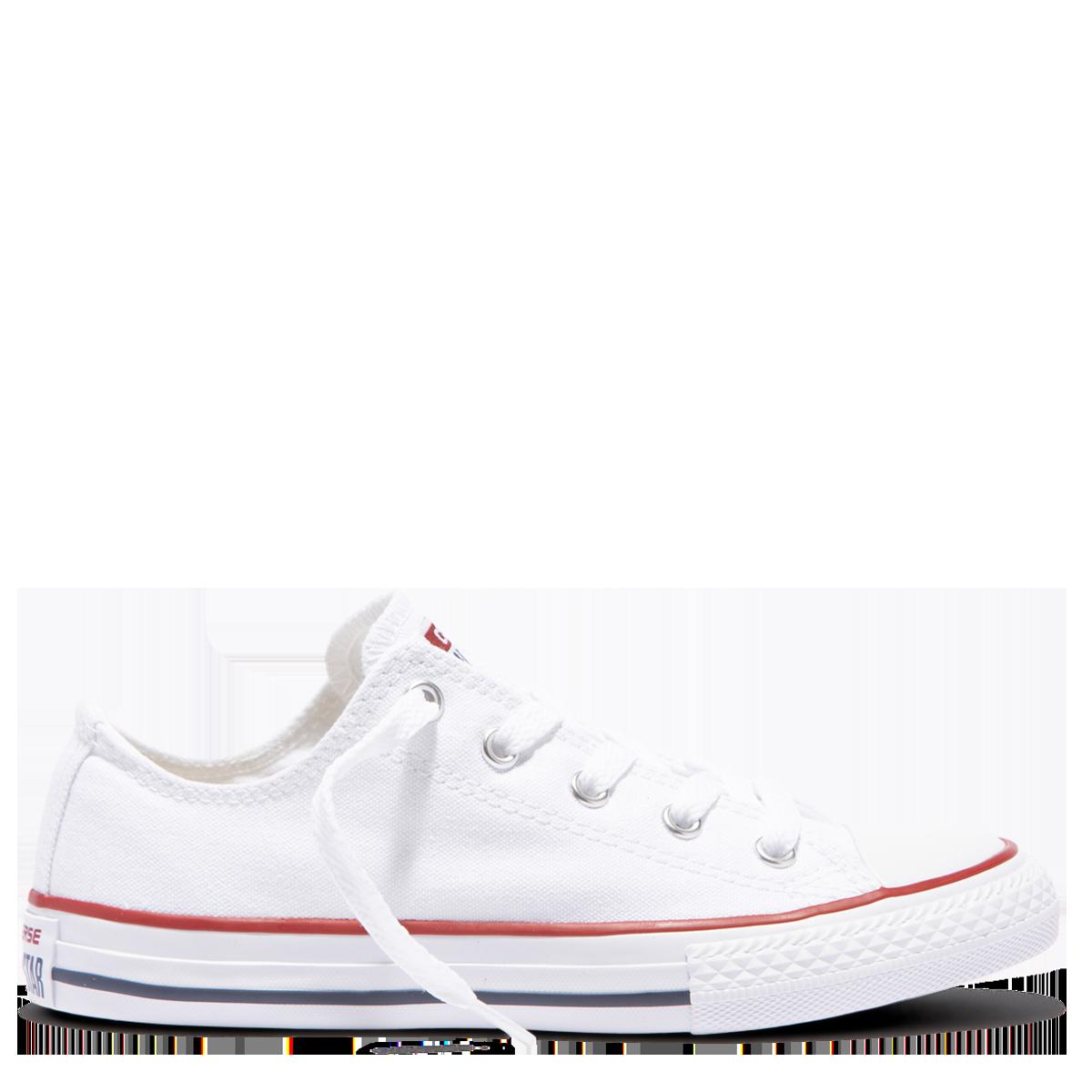 2b4295e7dd40 Converse Chuck Taylor All Star Junior Low Top- White. Price   59.99. Image 1