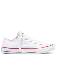 Converse Chuck Taylor All Star Junior Low Top-  White