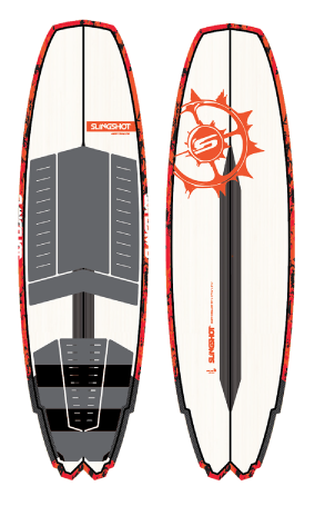 2018 Slingshot Angry Swallow Kite Surfboard