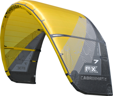 2018 Cabrinha FX Kiteboarding Kite Yellow