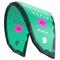 2018 North Mono Kiteboarding Kite - Vivid Viola / Neon Green