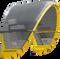 2019 Cabrinha Contra Kiteboarding Kite - Yellow (003)