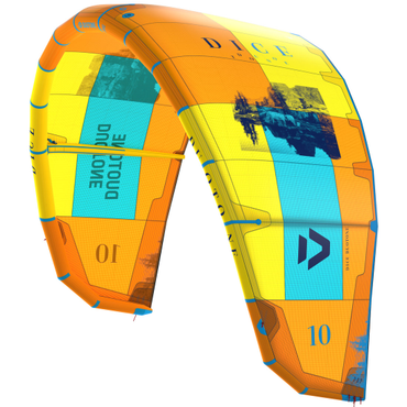 2019 Duotone Dice Kiteboarding Kite - CC3 - Orange