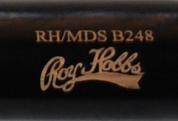 RH/MDS 248 Black Wooden Bat Barrel