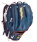 Pitcher's / Outfielder's Baseball Glove GRH-1200w bolt detail