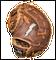 First Baseman's Glove | GRH-2400n Bolt Detail