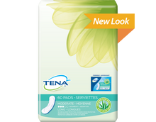 Sample of TENA Light Moderate Long Pads