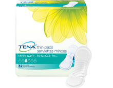 Tena Moderates Thin Pads Long