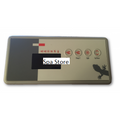 Gecko TSC-19 / K-19 Touchpad and 4 Button(2pump) Overlay