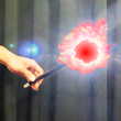 Super Bright LED WAND - Dazzling burst of red light - LIGHT OF THE WORLD - Rechargeable - Simply Brilliant!
